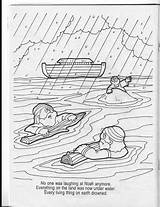 Noah Coloring Flood Colouring Sketchite sketch template