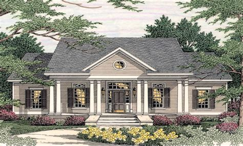 style houses small southern colonial house plans colonial style homes