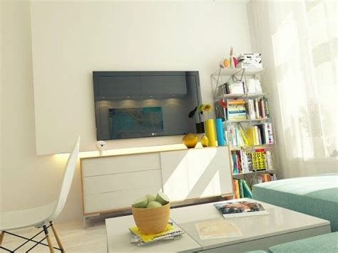 Small 29 Square Meter 312 Sq Ft Apartment Design by Small 29 Square Meter 312 Sq Ft Apartment Design Wall