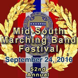 mid south band festival schedule gadsden city schools