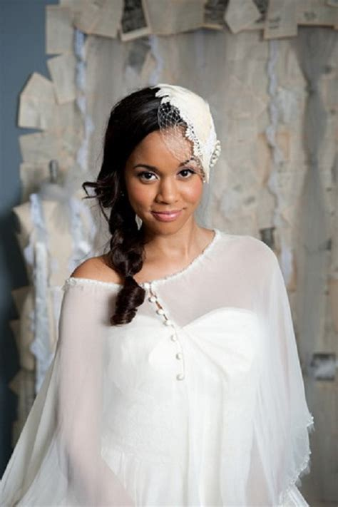 Beautiful African American Wedding Hairstyles Life n Fashion