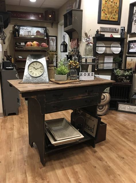 shop country kitchen country primitive kitchen island country furniture 2199