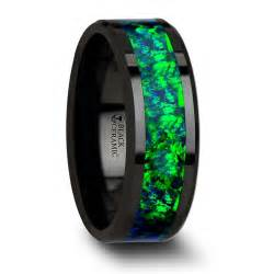 mens wedding bands wood inlay best mens wedding bands