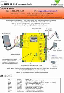 654943 Net2 Nano 1 Door Access Control Unit User Manual