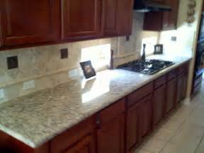 granite kitchen backsplash granite counter top and backsplash