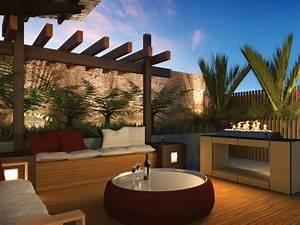 Amenagement Petit Jardin Moderne Salon Design IdeeCO