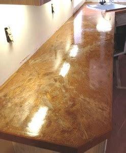 countertop copper metallic  diamond kote decorative