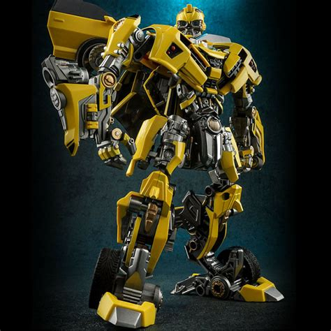 sale transformers   knight alloy bumblebee car