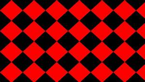 Wallpaper rhombus black red diamond lozenge #000000 # ...