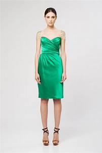 Emerald green cocktail dresses