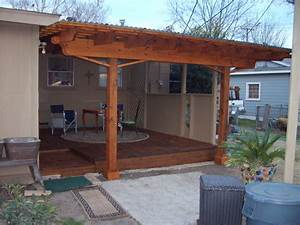 Corrugated patio cover how to build a patio cover with a for How to build a patio cover with a corrugated metal roof