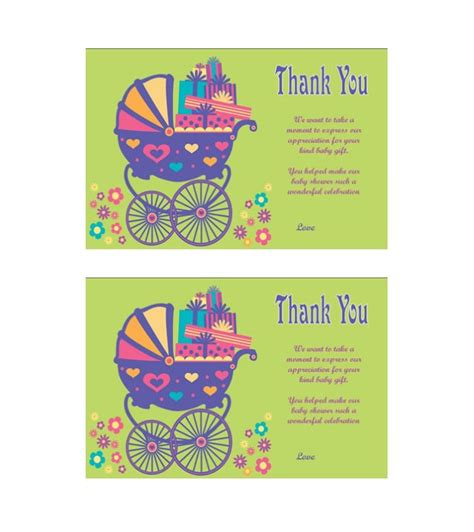 thank you card template free 30 free printable thank you card templates wedding
