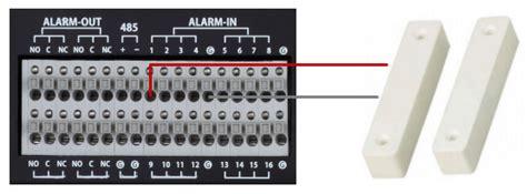 dvr alarm input setup viewtron cctv hd sdi surveillance dvrs