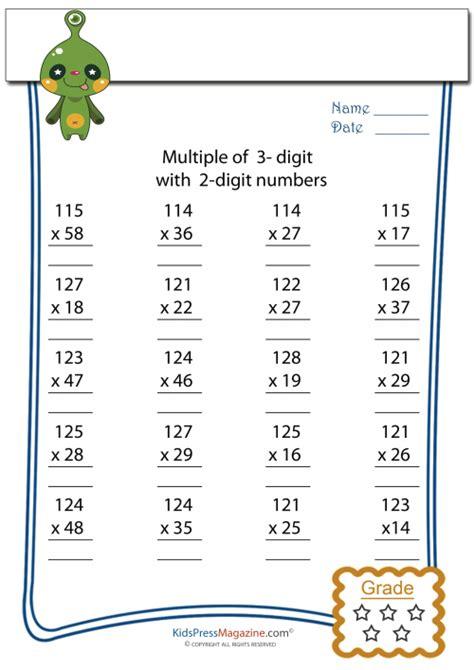 multiplication worksheet 3 digit by 2 digit 8