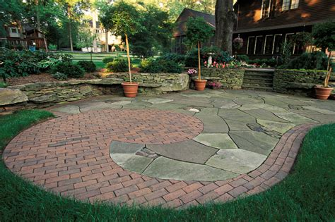 bluestone patios and patio landscaping in new jersey