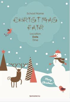 school christmas poster festival collections