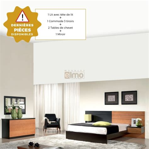 Commodes En Soldes by Soldes Chambre Lits Lit Commode Chevets Promo Promotion