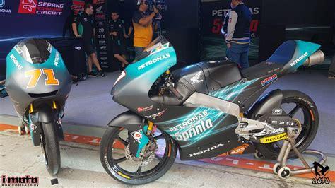moto moto petronas sprinta racing reveals  livery