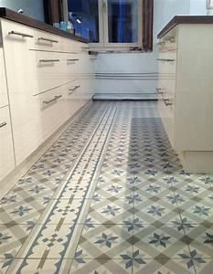 Zementfliesen in der kuche for Zementfliesen küche