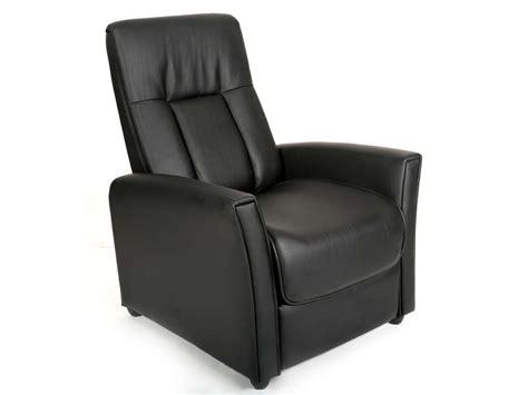 fauteuil relaxation zeni coloris noir en tissu pu vente de tous les fauteuils conforama