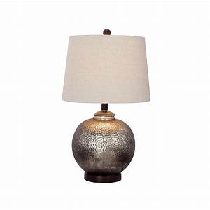 fangio lighting 24 in antique brown mercury glass and oil With 3 way table lamp home depot