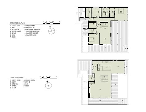 and house plans gallery of far pond bates masi architects 13