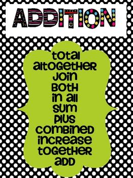 addition  subtraction clue words   grades  hoot