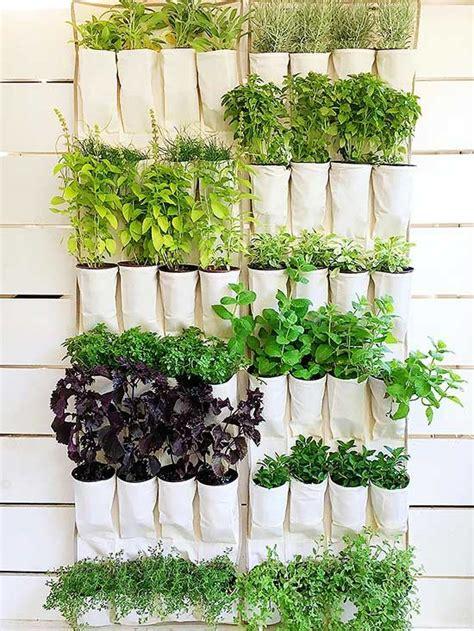 Vertical Herb Garden Design by 9 Diy Vertical Gardens For Better Herbs Backyard Diy