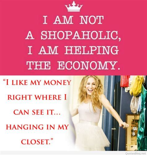 Awesome quotes about shopping