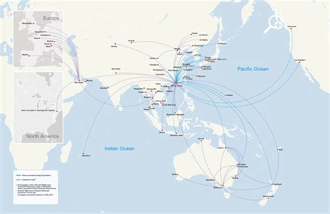 hong kong airlines route map destinations in china and asia