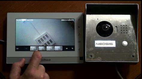 videointerfon ip dahua vthch vtoa neosisro