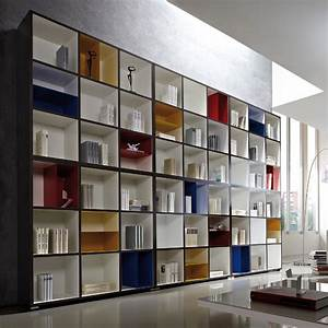 Bücherregal Modernes Design : neuheit modernes b cherregal b cherwand wohnwand systemwand wei anthrazit ebay ~ Sanjose-hotels-ca.com Haus und Dekorationen