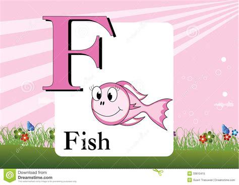Alphabet-f Stock Vector. Illustration Of Child, Character