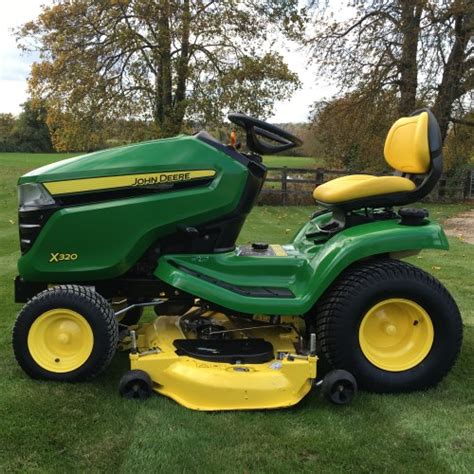 deere x320 lawn tractor 48 quot bertie green