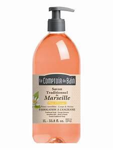 Le Comptoir Du Bain : le comptoir du bain orange blossom marseille traditional soap 1 l ~ Teatrodelosmanantiales.com Idées de Décoration