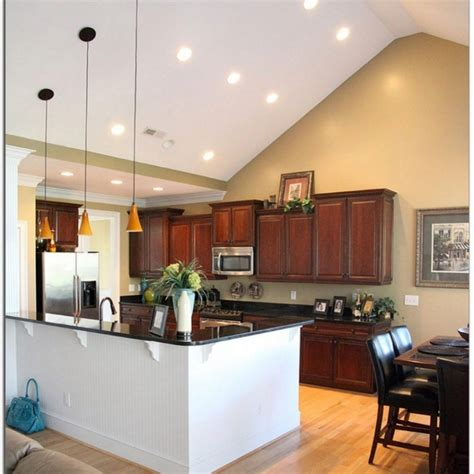 kitchen lighting ideas vaulted ceiling semi vaulted ceiling www energywarden net 8340
