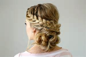 Double French Braid Updo Hairstyles