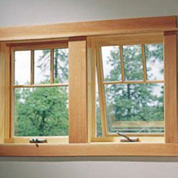 kitchen window clad awning window custom wood series