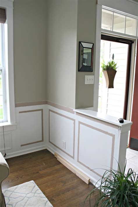 Custom paint color may be applied over surface. Half Wall Bookcase from Thrifty Decor Chick