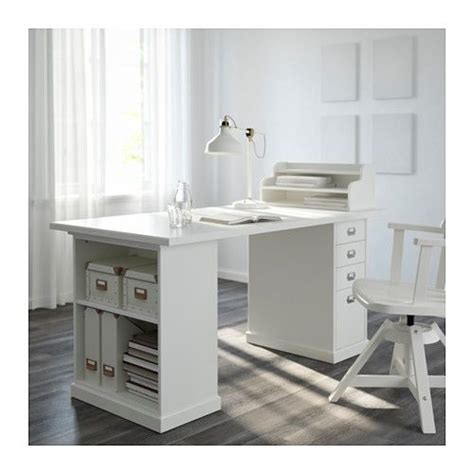 lada scrivania klimpen table leg with storage white ikea this would be