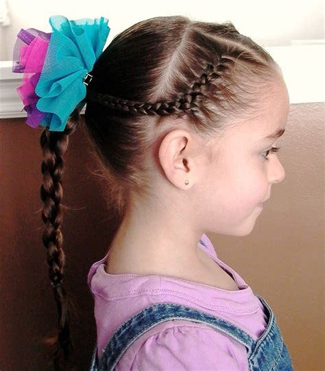 pictures of braided hairstyles for little girls with long hair