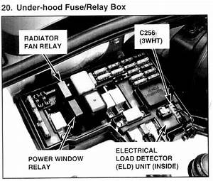 1997 Honda Accord Fan Relay Location