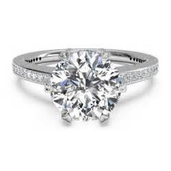 jewelers engagement rings ritani solitaire micro pave white gold semi mount engagement ring king jewelers
