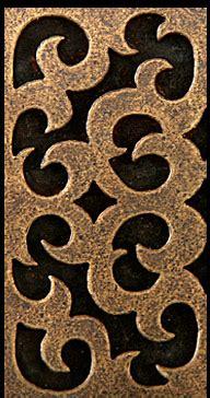 pewter tile metal tile accent tiles decorative metal