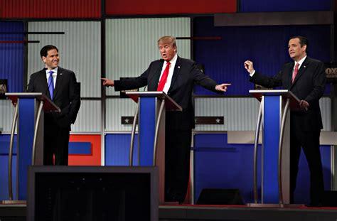 Republican Presidential Candidates Debate In