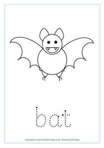 bat word tracing