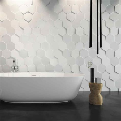 wavy textured wall tile sofa cope