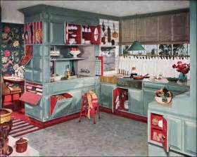 vintage decorating ideas for kitchens 1953 armstrong kitchen midcentury interior design