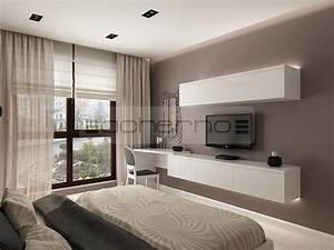Wohnung Einrichten Ideen Schlafzimmer : acherno minimalistische innenarchitektur ideen in wei ~ Bigdaddyawards.com Haus und Dekorationen