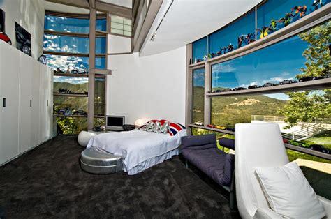 chambre de luxe pour ado maison contemporaine de luxe à malibu avec superbe vue